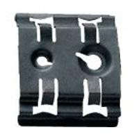 Claw for symmetrical rail EN 60715 width 35 mm for M4 and M6 screws